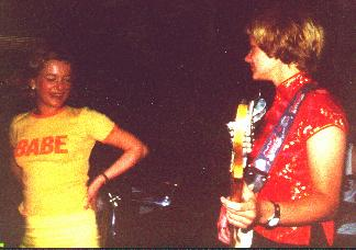 May 2000, Frauke & Cécile; 