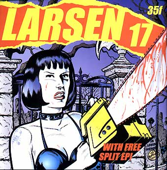 Larsen #17 - Cover Art by Merinuk