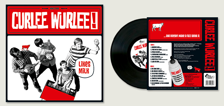 Curlee Wurlee likes milk - Cover Art